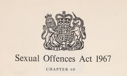 1967 Sexual Offences Act.