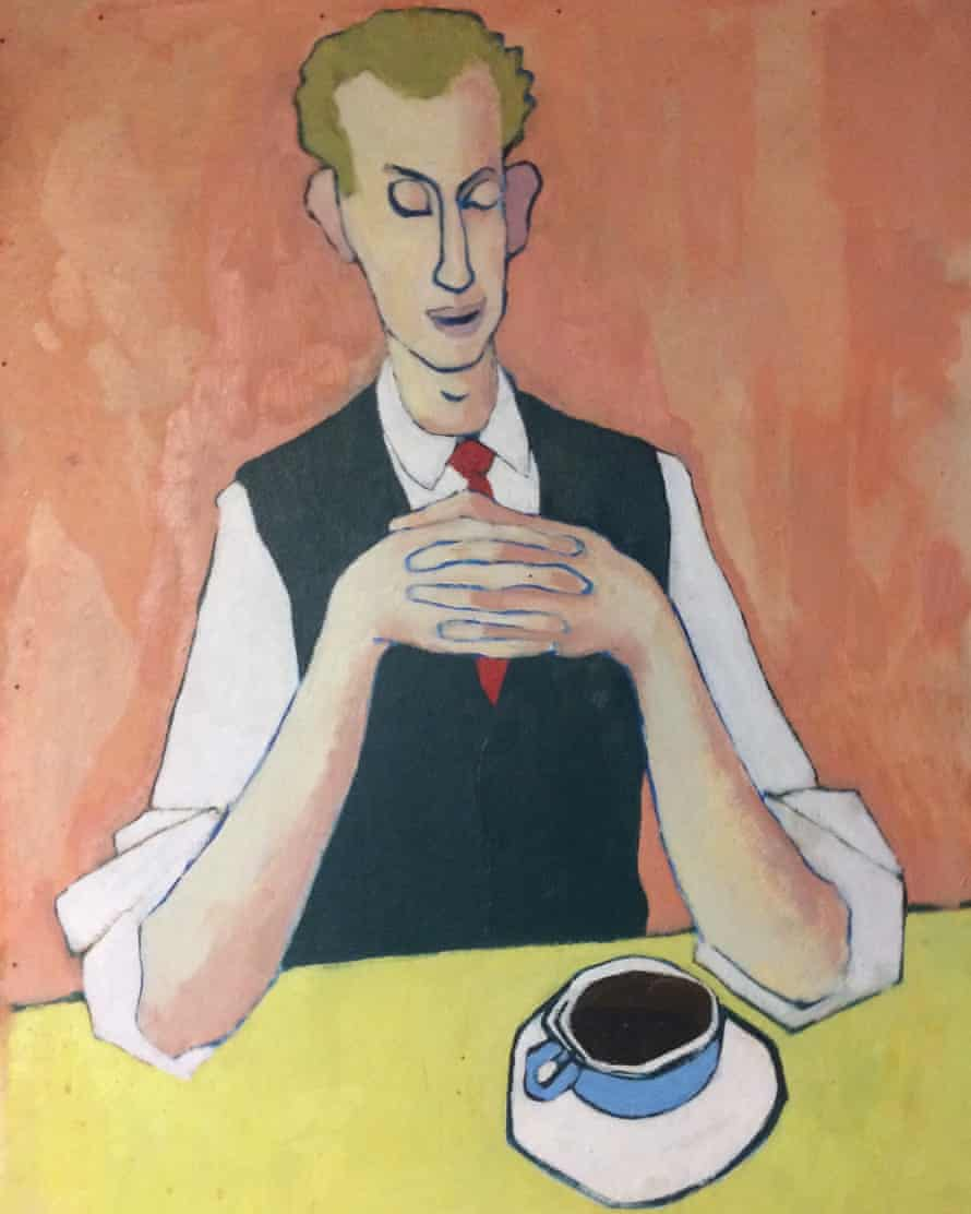 Portrait of Dick Ross by his friend the painter Bill Culbert