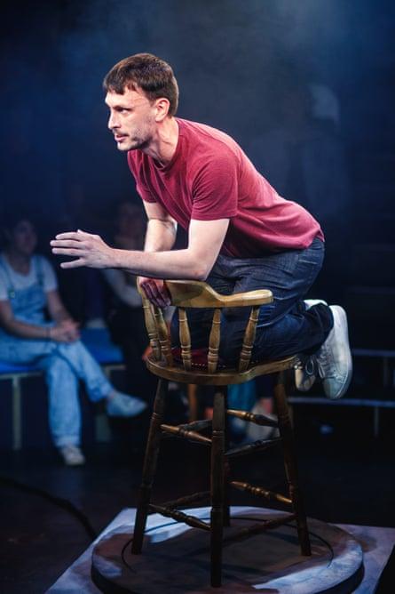 Edge-of-the-seat stuff … Gadd performs Baby Reindeer in Edinburgh this summer.
