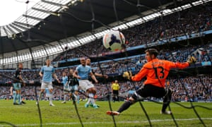 The Belgian got the vital second goal against West Ham as City secured a second successive league title, not for the first time, denying Liverpool.