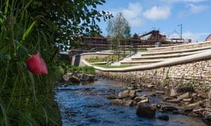 Sheffield - Porter Brook - river daylighting