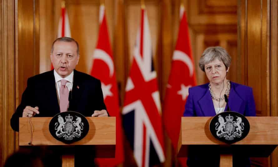 Erdoğan and May