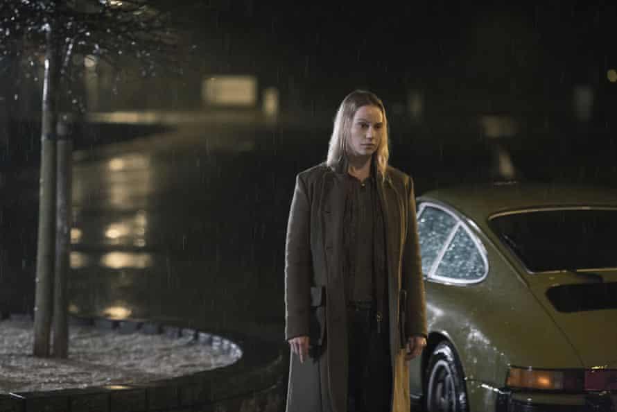 Sofia Helin as Saga Norén in The Bridge.