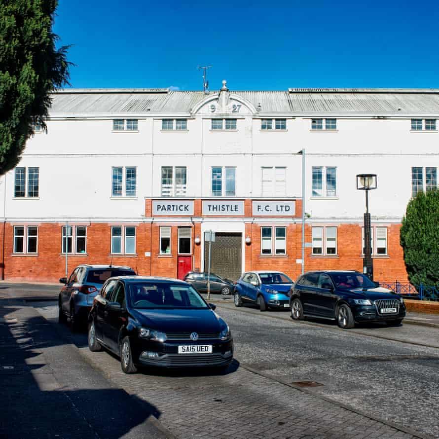 Partick Thistle's ground, Firhill Stadium.