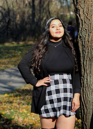 Cassandra Casas, a US citizen, is a high school senior in Wisconsin. Her family was excluded from Covid-19 relief payments because her father, an undocumented immigrant, paid his taxes using a taxpayer identification number.
