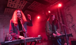 Let's Eat Grandma perform At Glasgow Stereo