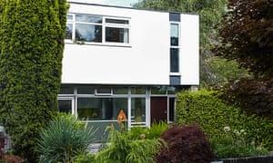 The Edward Schoolheifer-designed exterior.