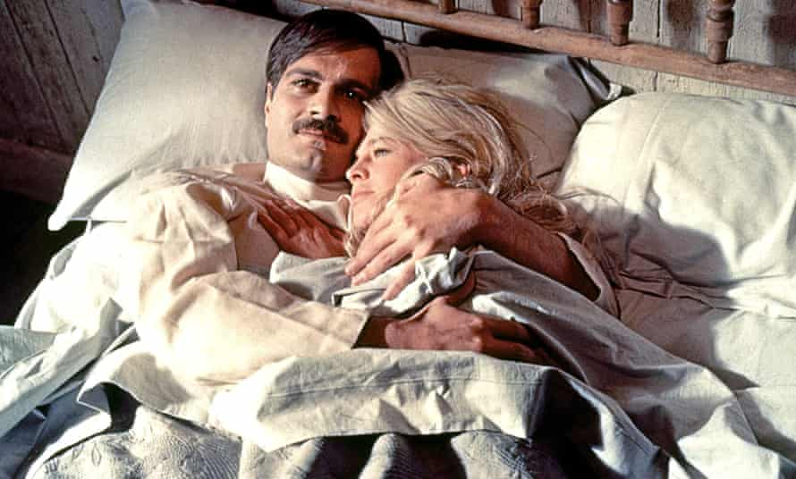 Omar Sharif and Julie Christie in Doctor Zhivago.
