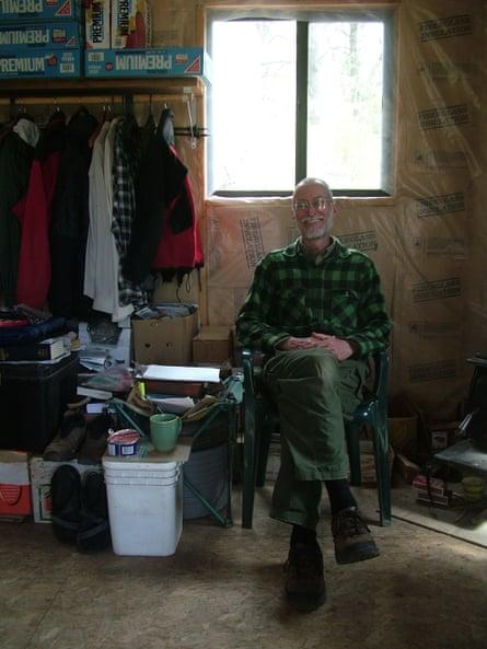 Doug at home.