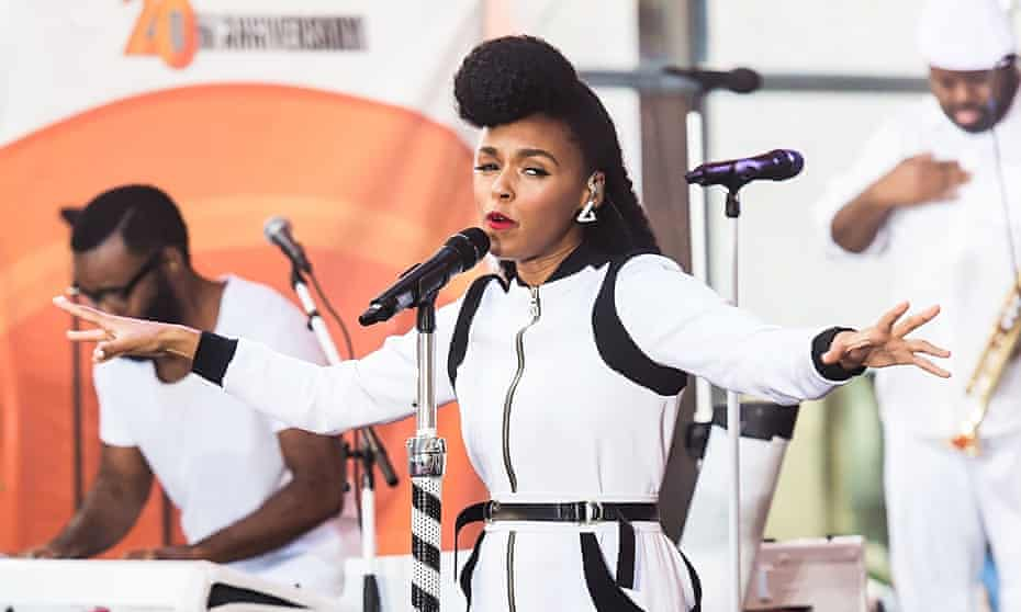 Janelle Monae performs live on NBC's Today' at Rockefeller Plaza in New York City, NY