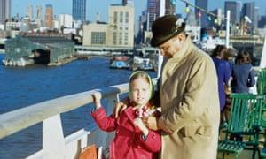 Dani Shapiro con su padre