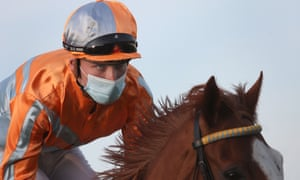 Face masks will be mandatory for jockeys and stalls handlers as well as medical and security staff.
