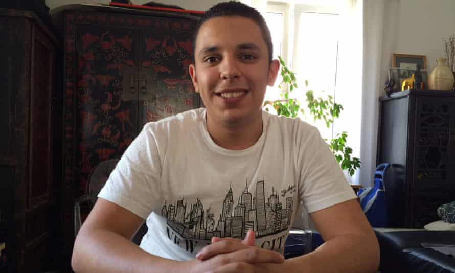 Muhannad Mohamad at his home in Vienna.