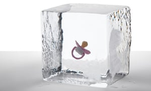 Dummy in an ice cube