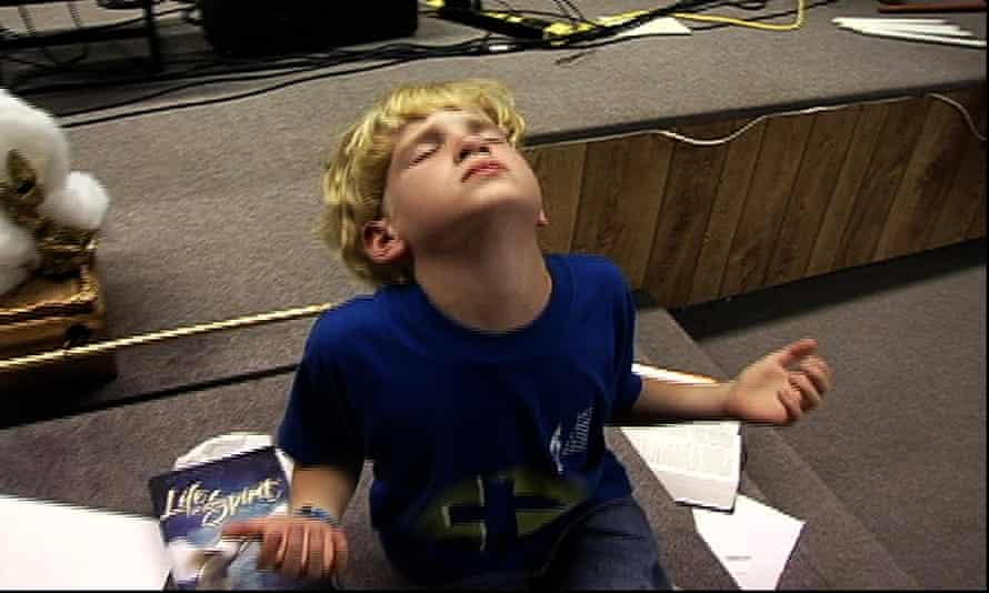 Andrew Sommerkamp, then 1o years old, in Jesus Camp.