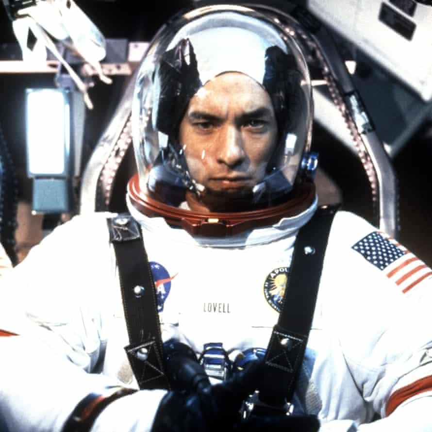 Tom Hanks as Jim Lovell in Apollo 13.