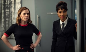 Anna Paquin and Sophie Okonedo in Flack
