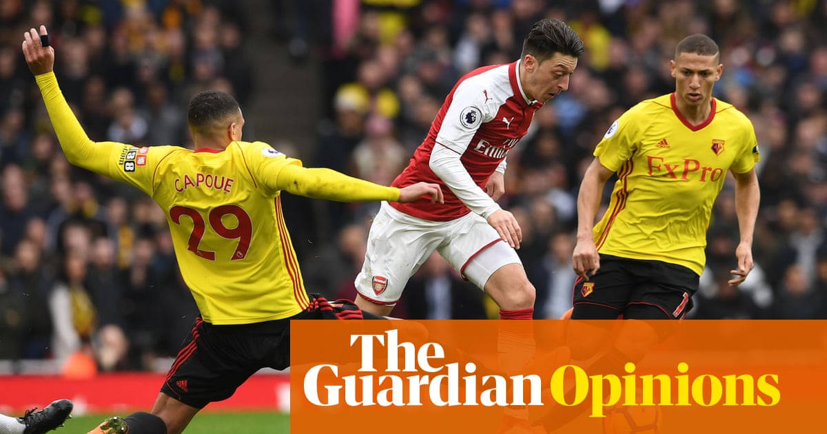 45c10f54124 Mesut Özil springs to life to offer hope amid the Arsène Wenger gloom