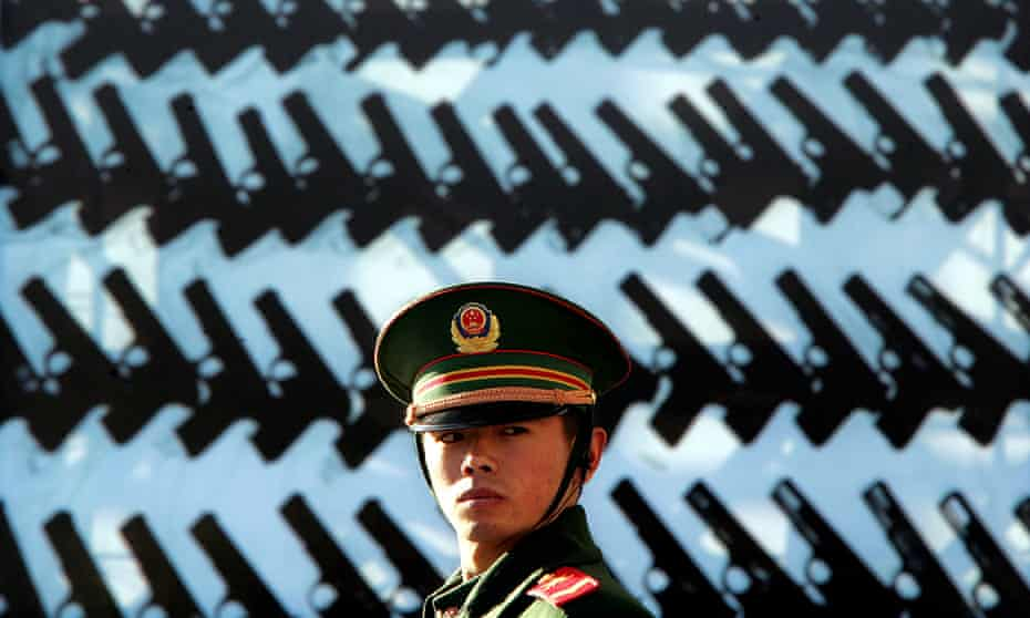 'China might someday be able to project power as far as the Persian Gulf'.
