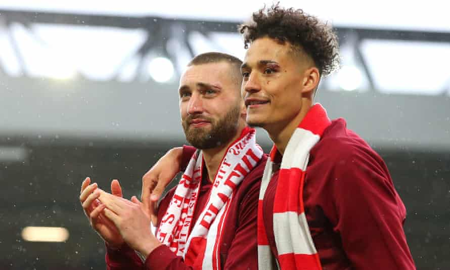 Jürgen Klopp said that Nathaniel Phillips and Rhys Williams made a huge contribution to Liverpool's season.