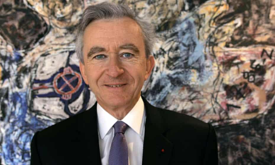 Chief executive of LVMH Bernard Arnault
