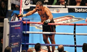 David Haye says ankle prognosis is good as he eyes Tony Bellew rematch