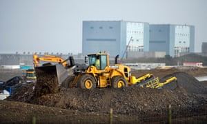 Hinkley Point C construction site in Somerset