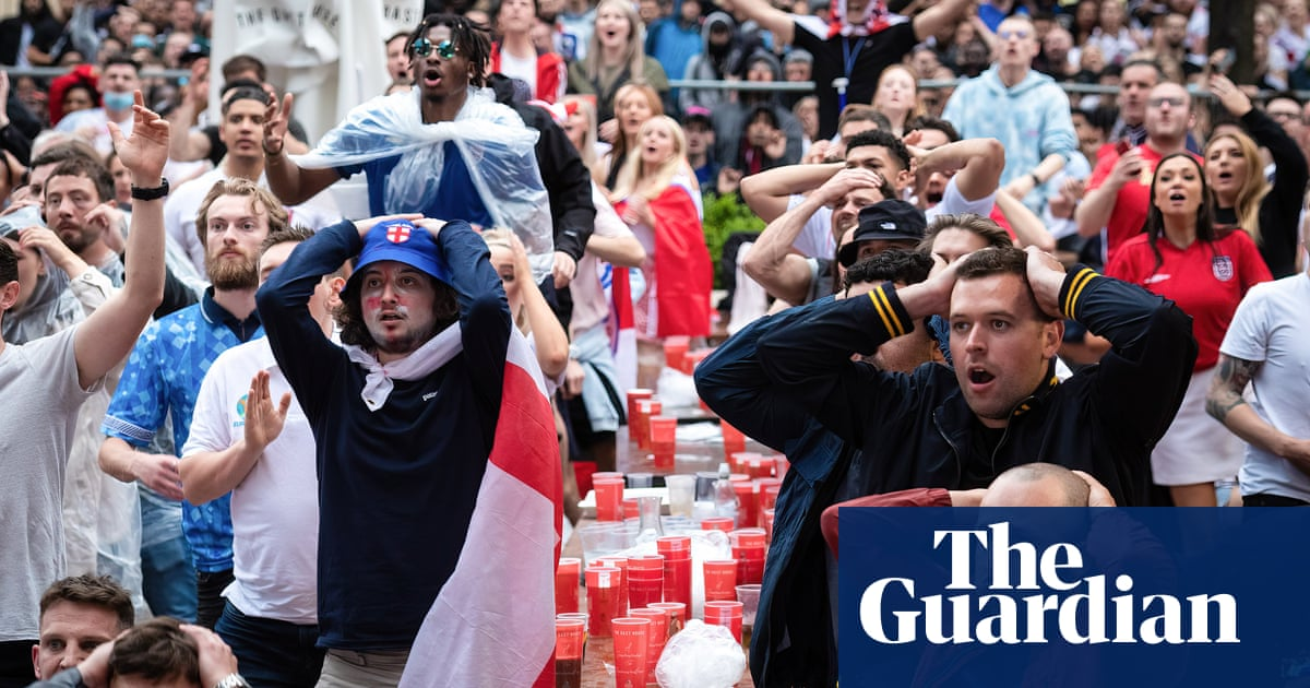 'Absolutely gutted': England fans devastated after Italy win Euro 2020 – video