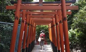 Person in Ueno Park, Tokyo