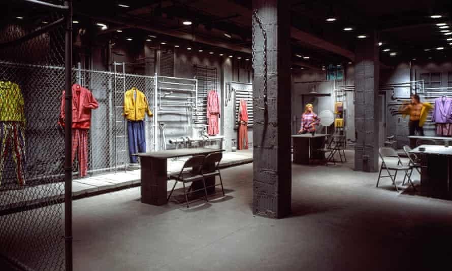 The Williwear New York showroom in 1982.