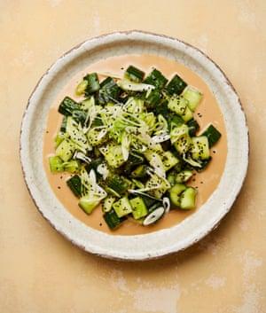 Cucumber salad à la Xi'an Impression