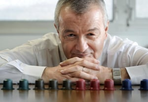Jean-Paul Gaillard, former head of Nespresso and later founder of its rival Ethical Coffee Company, in 2010.