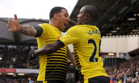 Troy Deeney and Odion Ighalo