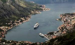 Kotor on the Montenegrin coast.