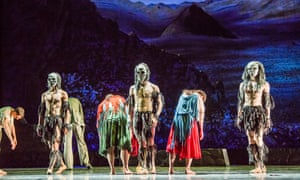 A scene from Ghost Dances by Christopher Bruce at Sadler's Wells, London, in 2017.