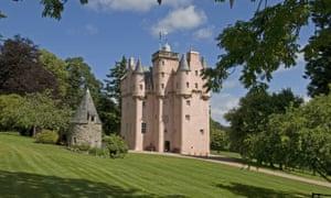 Taking the high road ... Craigievar Castle, Aberdeenshire