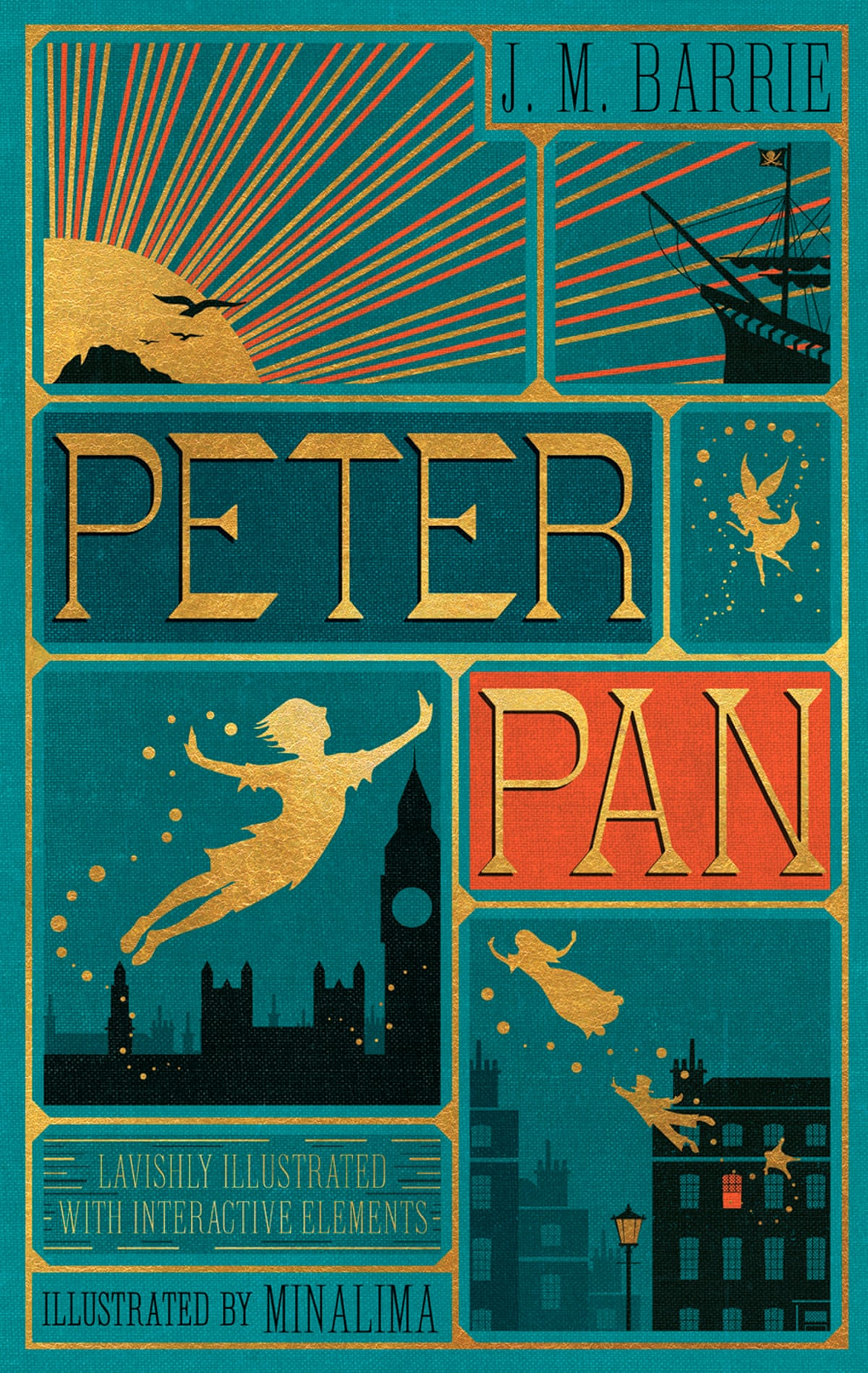 Peter Pan illustrated by Minalima – in pictures | Children ...