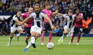 Jay Rodriguez scored two penalties for West Brom.