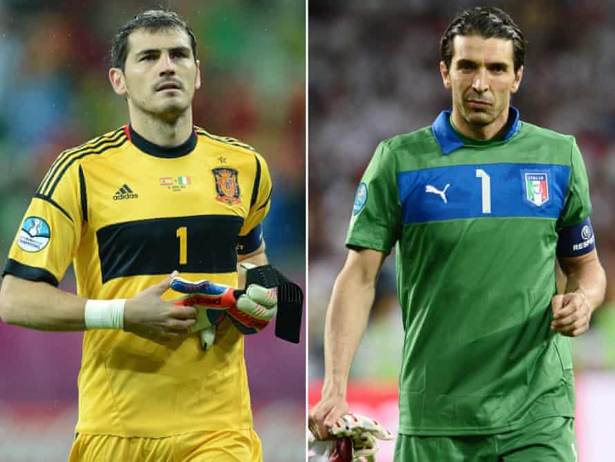 Finalistas de la Eurocopa 2012.