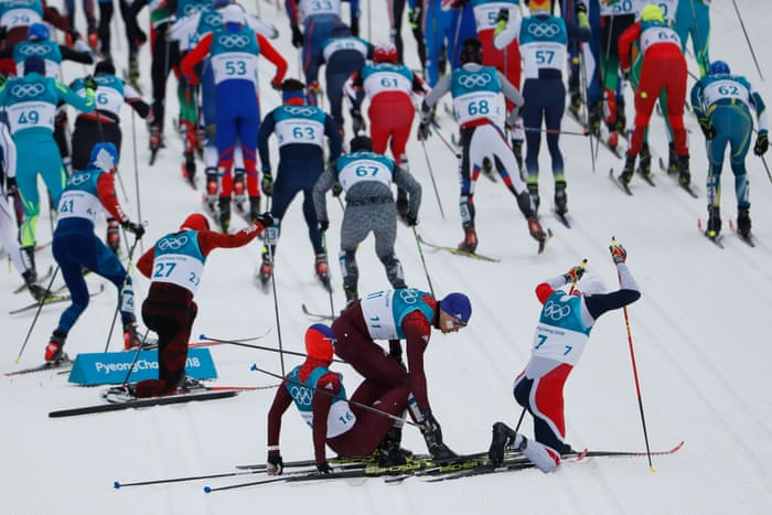 Winter Olympics 2018 Day Two Loch S Gold Hopes Unravel In Luge As It Happened Sport The Guardian