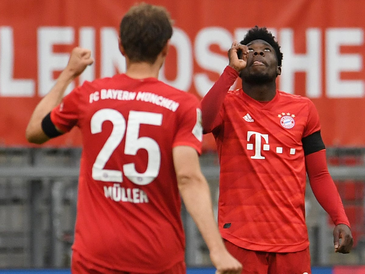 Bayern Munich 5 2 Eintracht Frankfurt Bundesliga As It Happened Football The Guardian