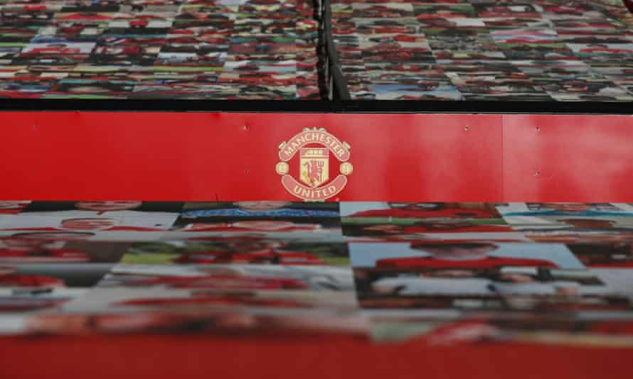 A view inside Old Trafford before Manchester United's game against Crystal Palace last month.