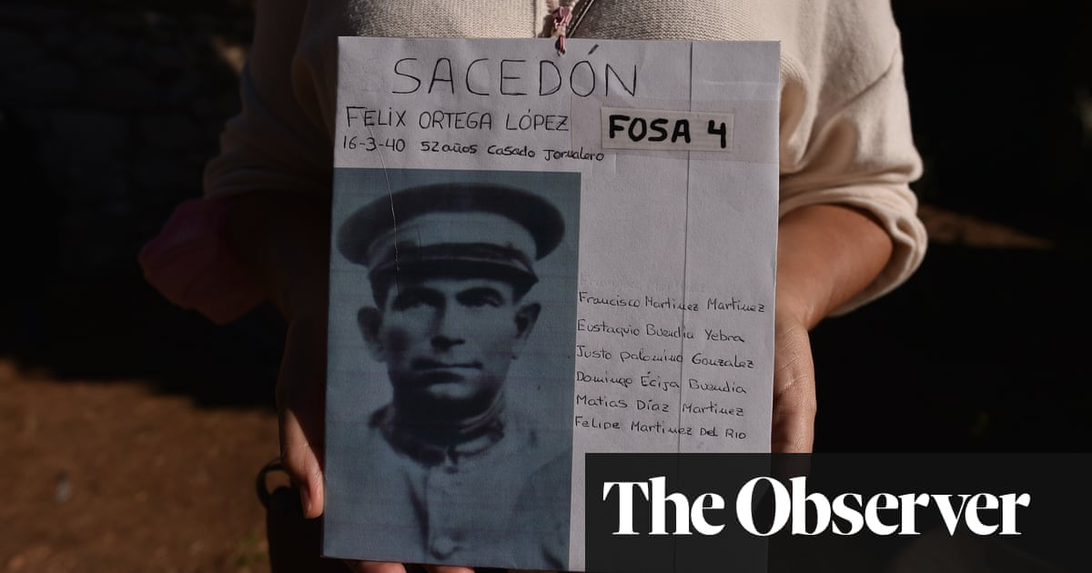 Old wounds are exposed as Spain finally brings up the bodies of Franco's victims