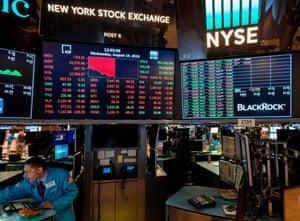 The New York Stock Exchange on Wednesday.