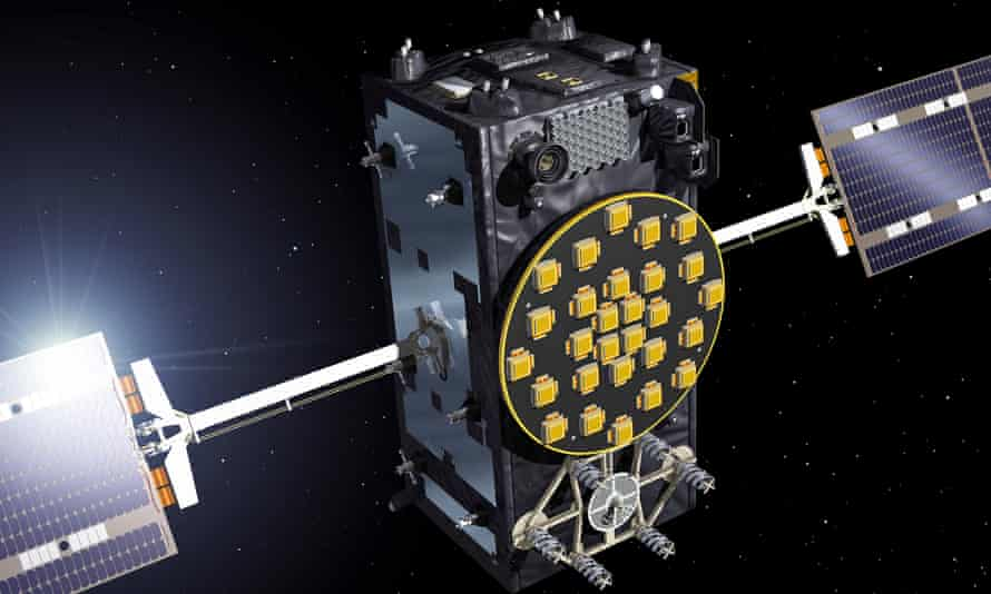 Artist view of a Galileo Full Operational Capability (FOC) satellite.