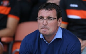 Will Blackpool manager Gary Bowyer manage to halt the slide at Blackpool this season?