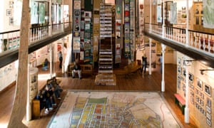 Interior of the District Six Museum, Cape Town