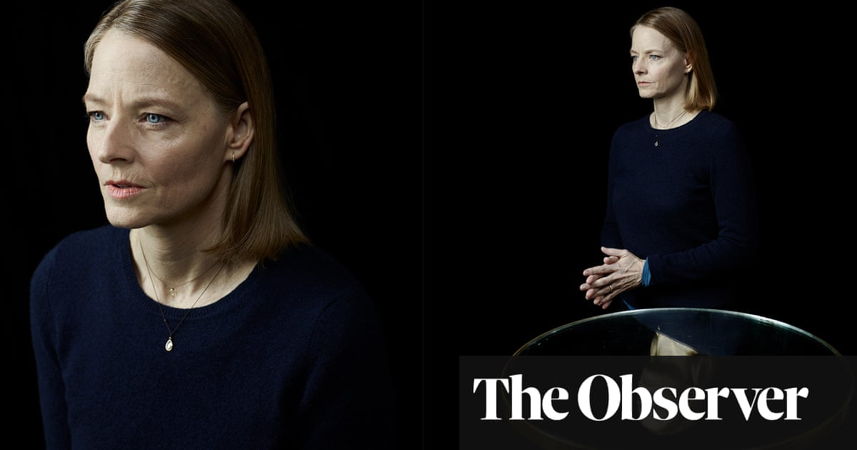 Jodie Foster: 'I make movies to figure out who I am'