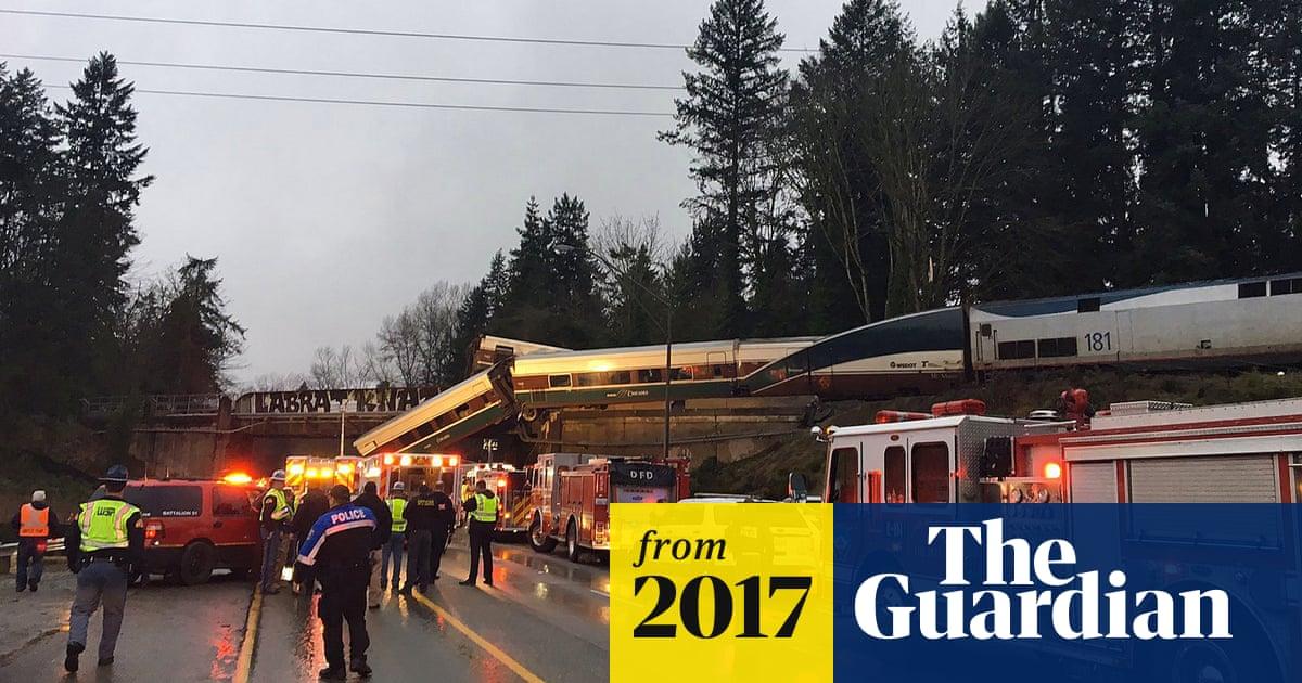 Amtrak train crash: several dead after derailment in Washington