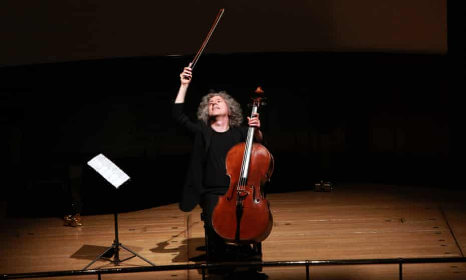 Steven Isserlis performing at the Wigmore Hall in London.
